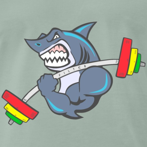 Shark Cross-fit - Maglietta Premium da uomo