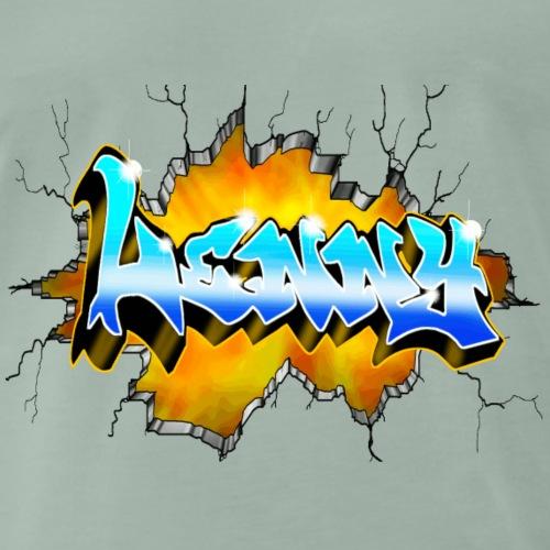 LENNY Graffiti - T-shirt Premium Homme