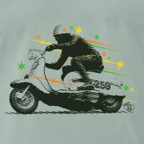 Scooter Macchia Nera DL Black Spot #259 Scooterist - Maglietta Premium da uomo