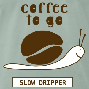coffee snail - Men's Premium T-Shirt