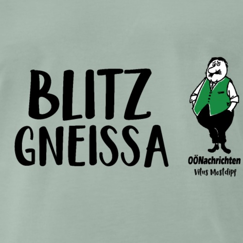 Blitzgneissa - Vitus Mostdipf - Männer Premium T-Shirt