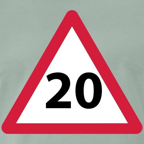 20 Geburtstag Geschenkidee - Männer Premium T-Shirt