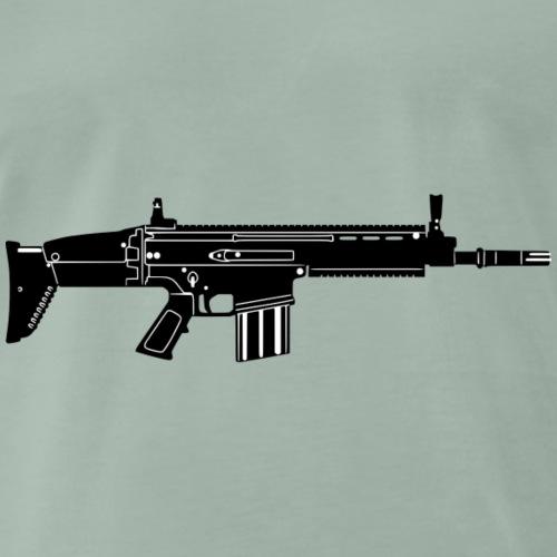Waffe - Männer Premium T-Shirt