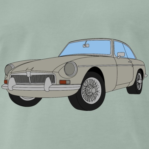 FARINA GREY - Men's Premium T-Shirt