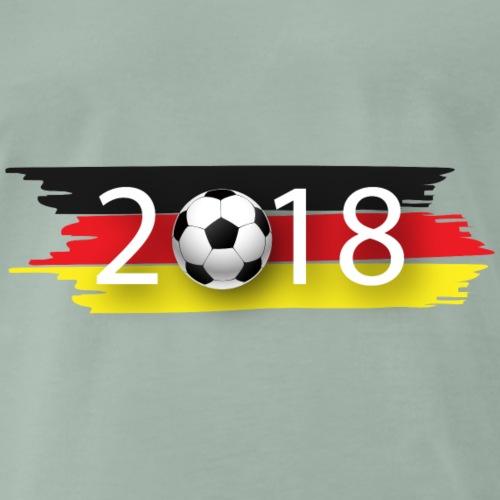 Deutschland 2018 - Männer Premium T-Shirt