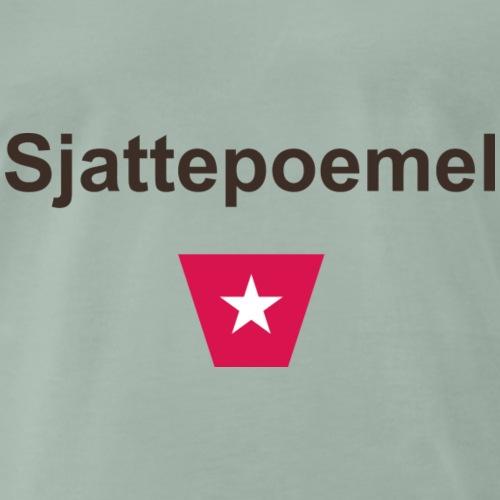 Sjattepoemel ms b - Mannen Premium T-shirt