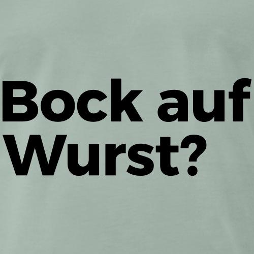 Bock auf Wurst - Männer Premium T-Shirt