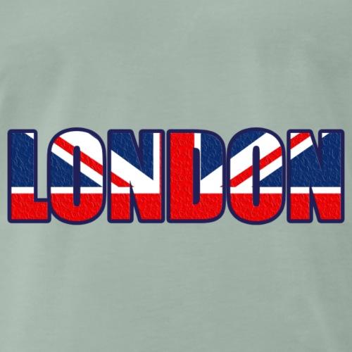 London Schriftzug - Männer Premium T-Shirt