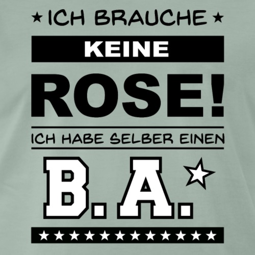 Bachelor of Arts - Männer Premium T-Shirt