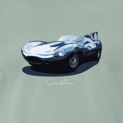 Signature Series Le Mans D-Type Design - Men's Premium T-Shirt