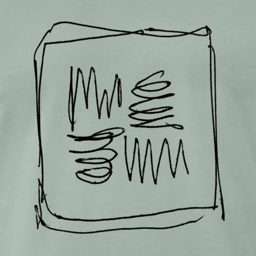 Kritzel - Männer Premium T-Shirt