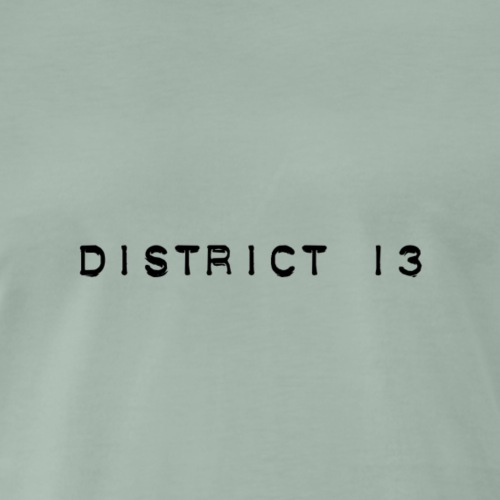 Bandlogo District 13 - Männer Premium T-Shirt