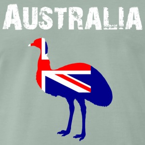 Nation-Design Australia 02 - Men's Premium T-Shirt