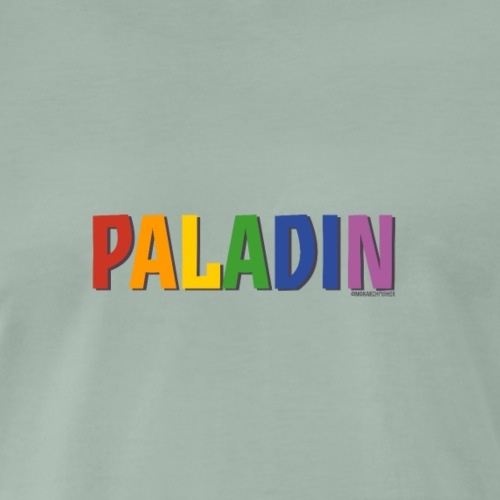 Paladin Pride (Rainbow) - Men's Premium T-Shirt