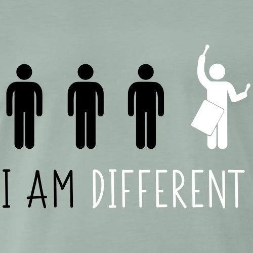 i am different tamb - Maglietta Premium da uomo