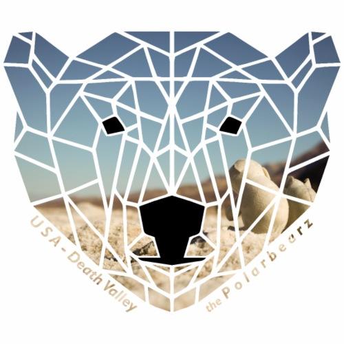 thePolarbearz USA-Death Valley Design - Männer Premium T-Shirt