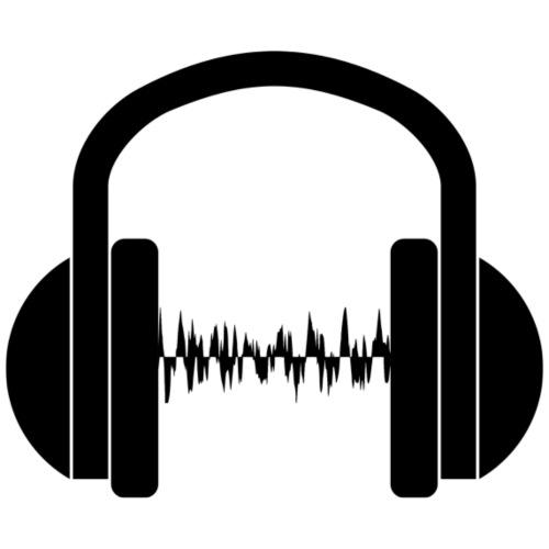 Cascos música - Camiseta premium hombre