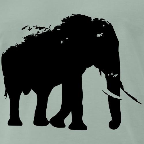 elefant 2 - Männer Premium T-Shirt