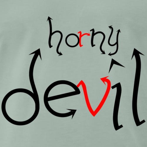 Horny devil - Men's Premium T-Shirt