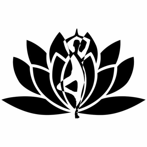 yoga flower - Men's Premium T-Shirt