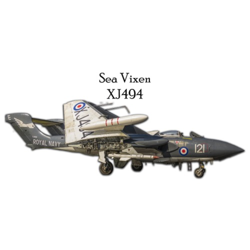 Sea Vixen XJ494 - Men's Premium T-Shirt