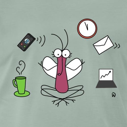 Djen Wana Zen @ Work - T-shirt Premium Homme