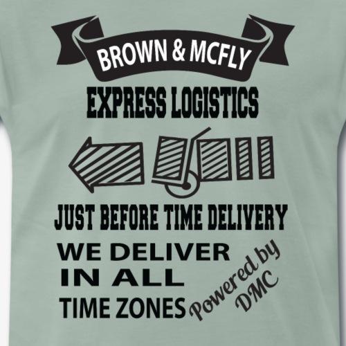 Brown & McFly express logistics - Männer Premium T-Shirt