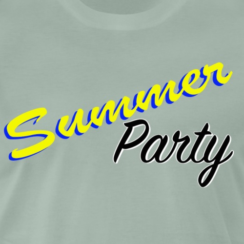 Summer Party - Premium-T-shirt herr