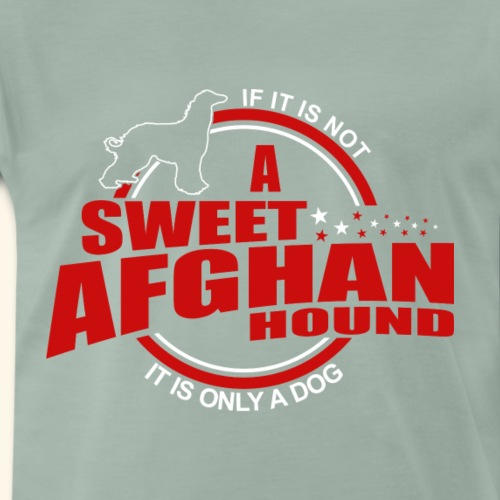If it is not a Afghan Hound it is only a dog! - Männer Premium T-Shirt