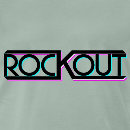 ROCKOUT: Version 2 - Männer Premium T-Shirt