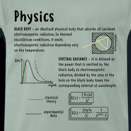 Radianza Spettrale 1 - Maglietta Premium da uomo