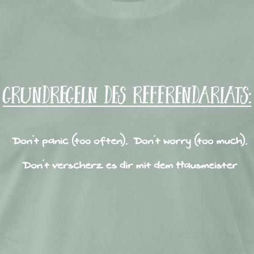 Grundregeln des Referendariats - Männer Premium T-Shirt