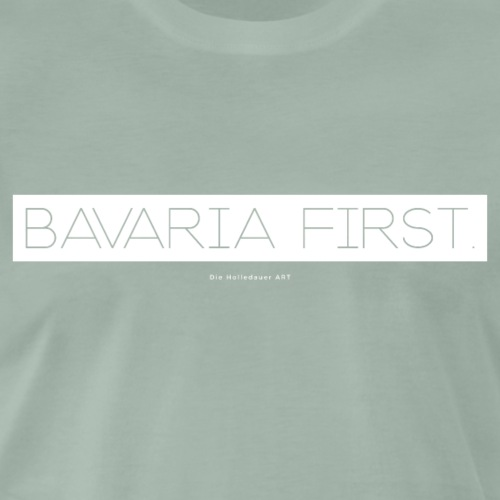 Bavaria First. - Männer Premium T-Shirt
