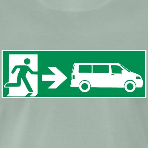 Emergency Exit T5 || SCHALLDOSE ON TOUR - Männer Premium T-Shirt