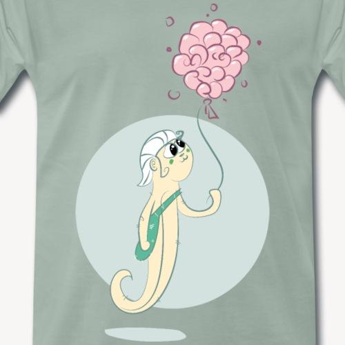 Hippocampe Ballon Gum - T-shirt Premium Homme