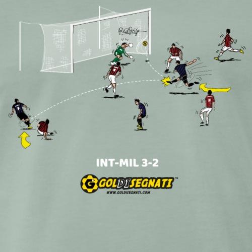 INT-MIL 3-2 | 2017 - Maglietta Premium da uomo