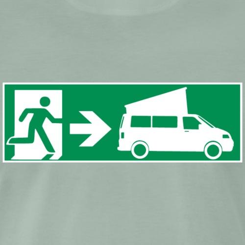 Emergency Exit T5 Faltdach || SCHALLDOSE ON TOUR - Männer Premium T-Shirt