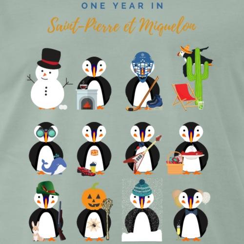 4- SPM Calendrier En - T-shirt Premium Homme