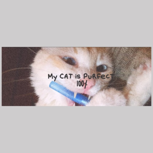 My Cat is Purfect - T-shirt Premium Homme