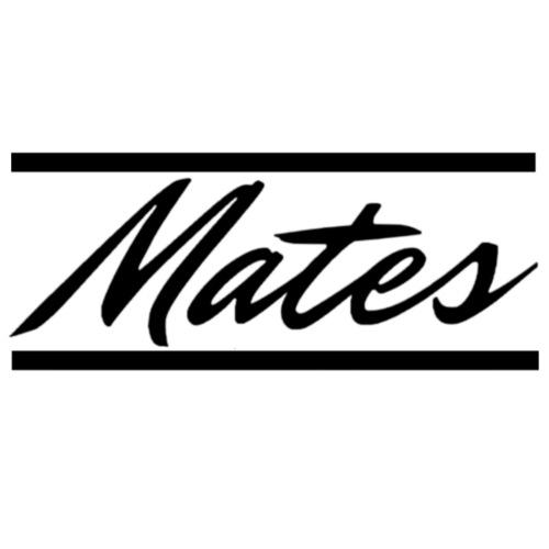 Mates-Schriftzug mit Balken - Männer Premium T-Shirt