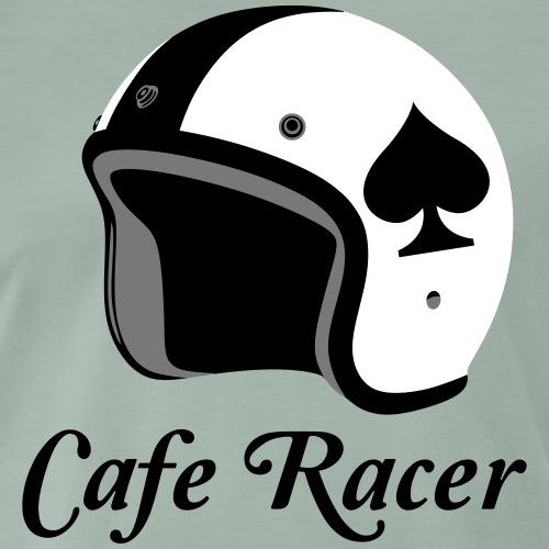 Cafe Racer Helm - Männer Premium T-Shirt