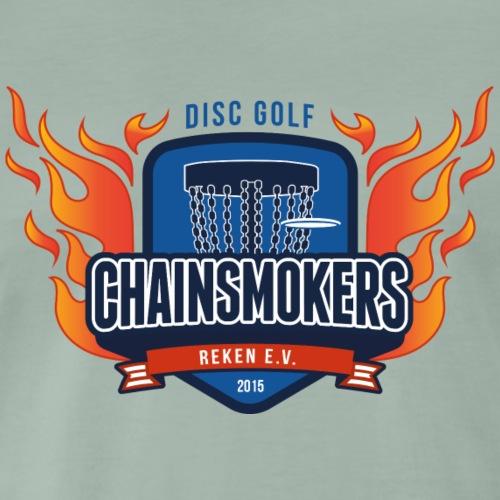Logo Chainsmokers Reken - Männer Premium T-Shirt