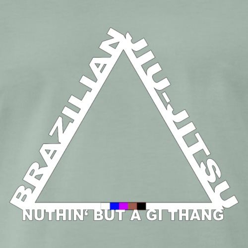 Triangel Logo BJJ - Nuthin' But A Gi Thang - Männer Premium T-Shirt