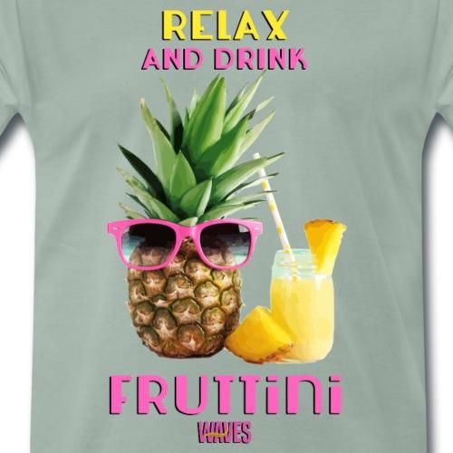 WAVES - Relax and drink fruttini - Maglietta Premium da uomo