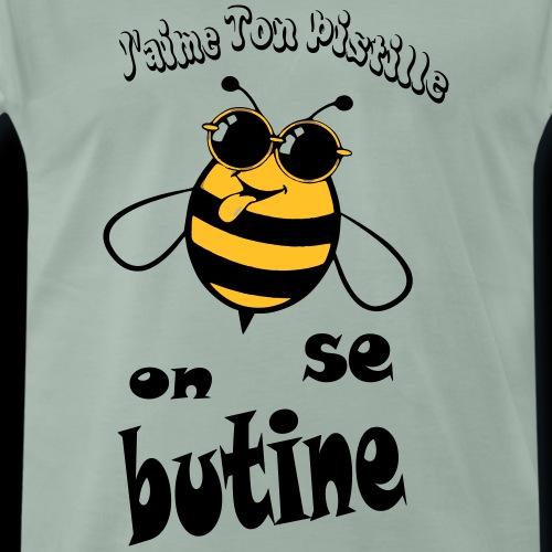 on se butine - T-shirt Premium Homme