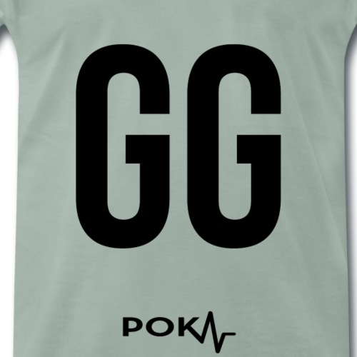 "Poker Apparel ""GG"" – Black Version - Männer Premium T-Shirt"