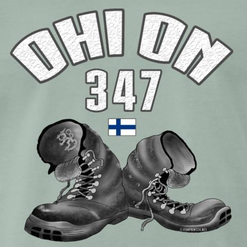 01-02 OHI ON 347 - SUOMEN ARMEIJA - Lahjatuotteet - Miesten premium t-paita