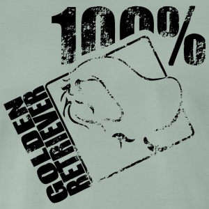 GOLDEN RETRIEVER 100 - Men's Premium T-Shirt