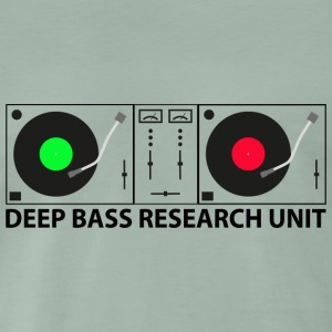 Deep Bass - Premium T-skjorte for menn