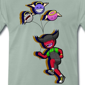 Devil_girl - Men's Premium T-Shirt